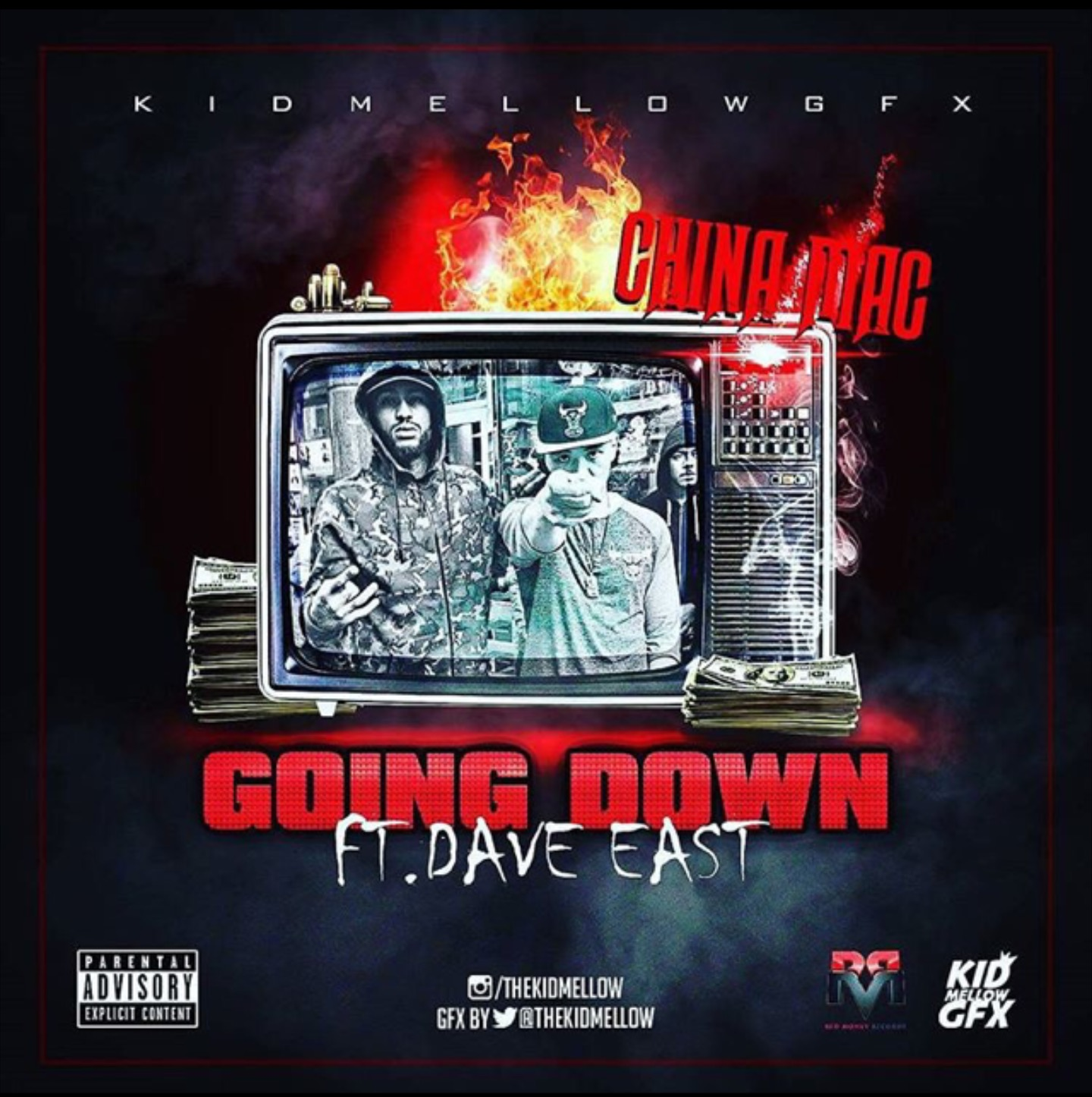 China Mac Dave East Going Down Cover Art (1)